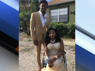 Athlete makes student's prom dream comes true