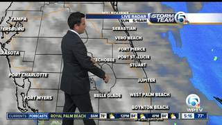 Warm and windy weather continues