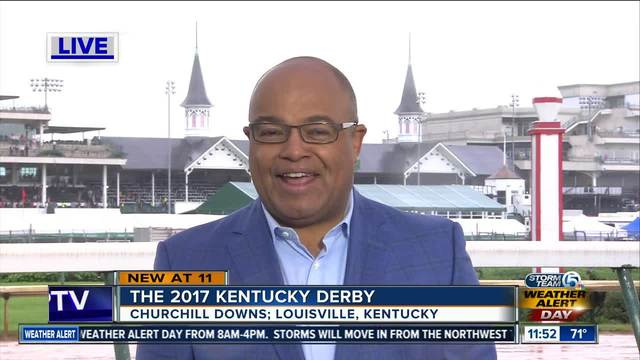 NBC-s Mike Tirico gives his pick for the Kentucky Derby