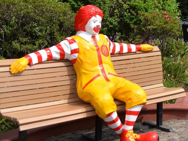 Stolen Ronald McDonald statue recovered undamaged