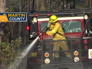 Fire concerns continue after blaze in Martin Co.
