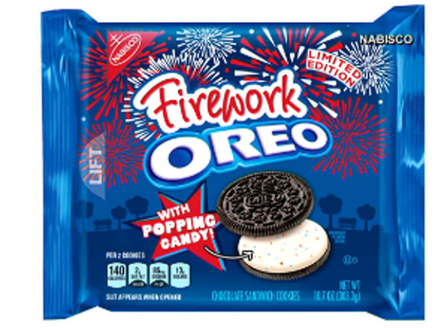 Oreo debuts 'Firework' cookie, asks fans to create next flavor