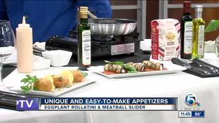 Easy to make appetizers with Chef Luigi