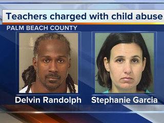 2 Broward teachers accused of beating girl