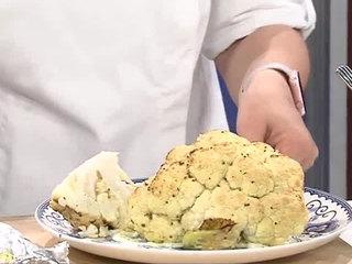 Roasted whole cauliflower recipe (5/15/17)