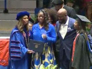 Trayvon Martin awarded honorary degree
