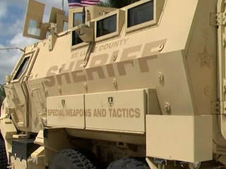 Military vehicles to be used for storm season