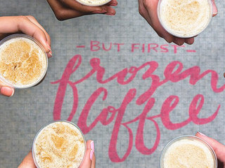 Free samples of Dunkin' Donuts new frozen coffee