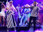 Katy Perry's 'backpack kid' steals show