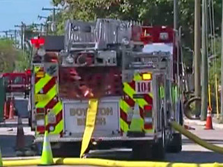 Boynton Beach gas leak capped