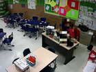 Video shows Florida teacher kissing student