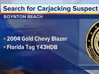 Driver carjacked at Boynton Beach bank ATM