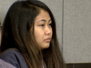 Woman accused of stabbing ex back in court