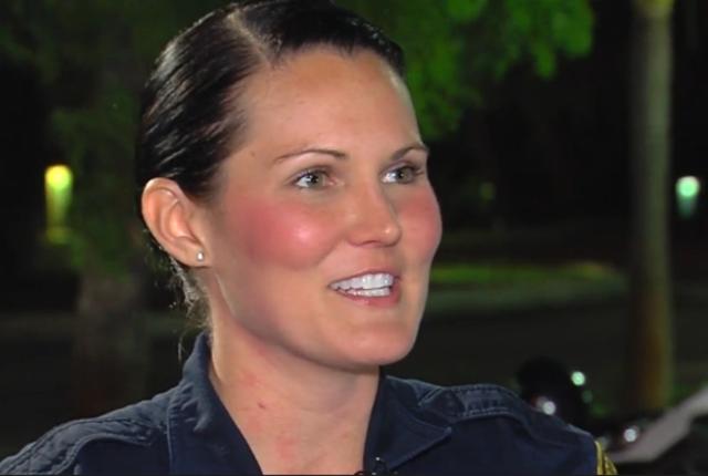 Officer Nicole Loshelder- Winner of Officer of the Year