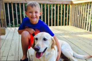 Student, service dog featured in school yearbook