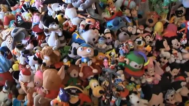 Woman evicted from apartment over large toy collection