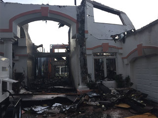 Fire destroys Boca Raton home under renovation