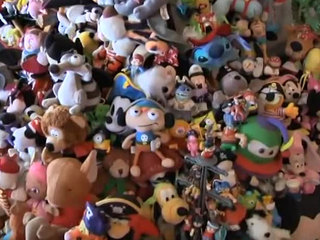 Woman evicted over her massive toy collection