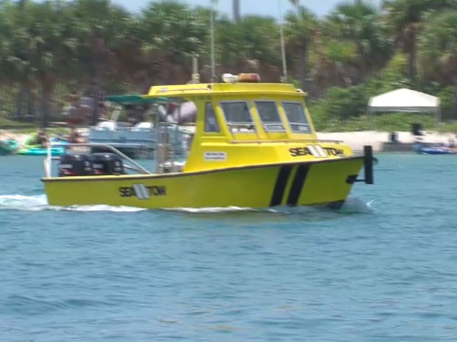 Patrolling the water on Memorial Day