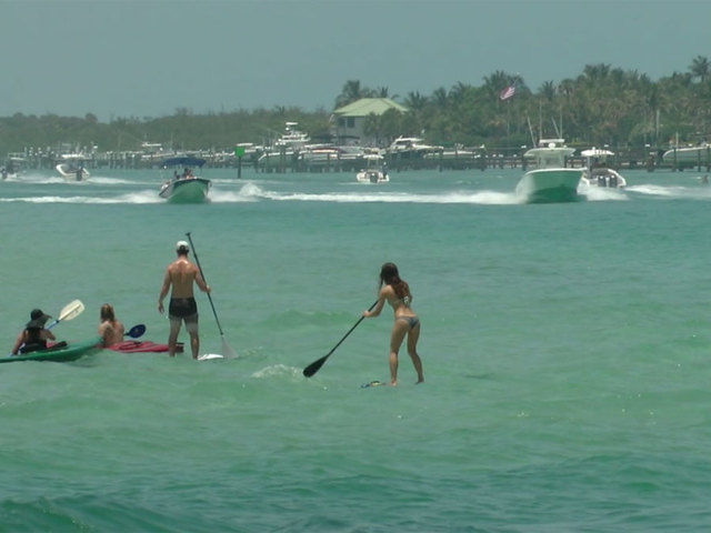 A plan for a -no wake- zone in Jupiter