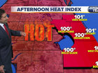 Triple digit heat index today