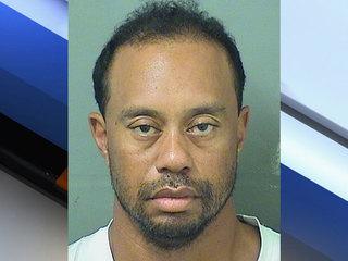 Tiger Woods arrested on DUI charges in Jupiter