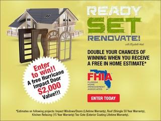 Enter to win a $2,000 hurricane impact door