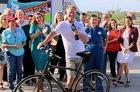 Fun Moments from Steve Weagle's Bike Ride