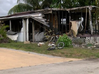 Family of 7 displaced by fire in Lake Worth