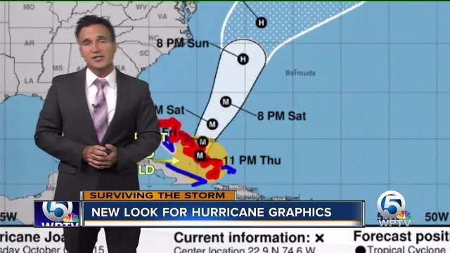 New look for hurricane graphics