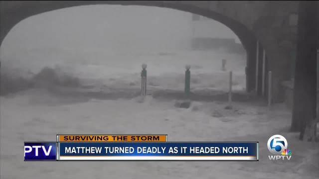 A look back at 2016-s Hurricane Matthew