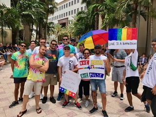 PICS: Gay Pride Rally in Downtown WPB