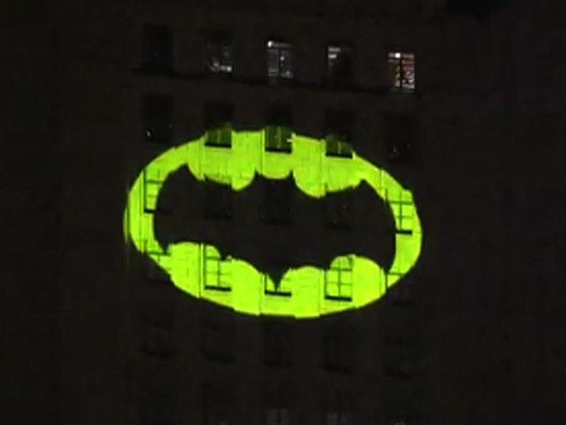 Bat Signal Lights Up Los Angeles In Tribute To Adam West Kshb
