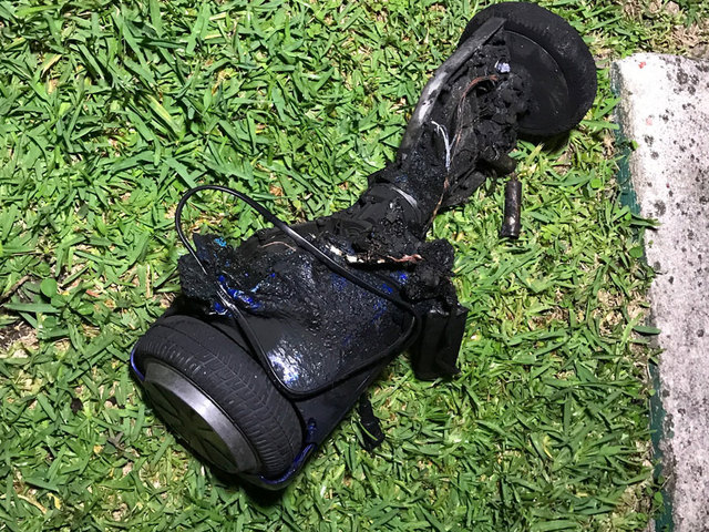 Riviera Beach family says hoverboard sparked house fire