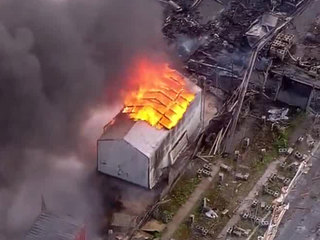 Nursery packing house destroyed by fire