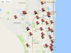 Map: Gas pump skimmers found in area this year