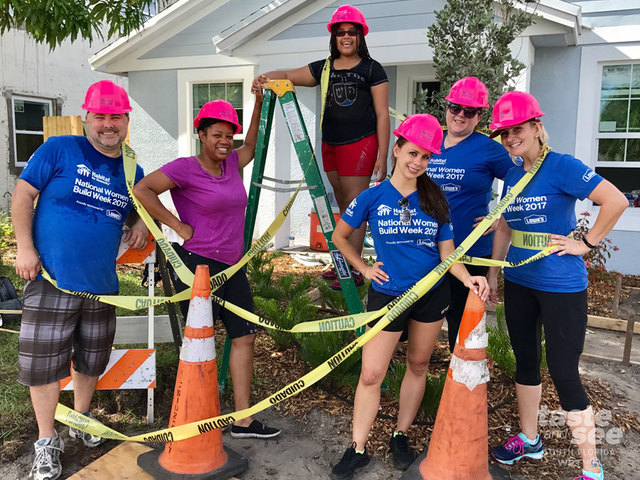 Building a Habitat for Humanity house is fun