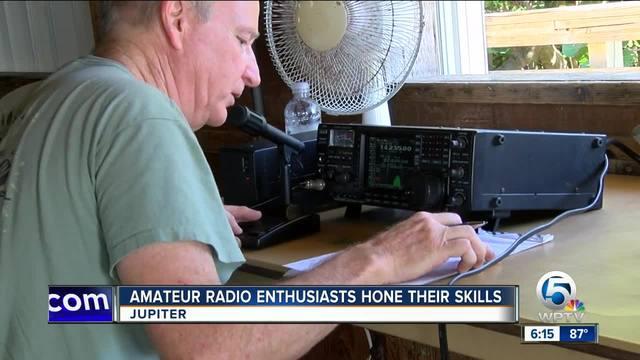 Amateur radio enthusiasts hone their skills in Jupiter