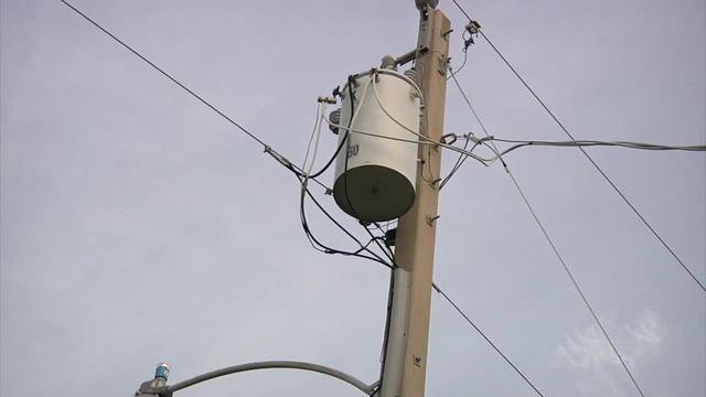 Steer clear of overhead power lines