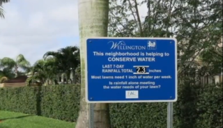 Study: Rainfall signs promote water conservation