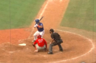 Tebow gets first FSL hit