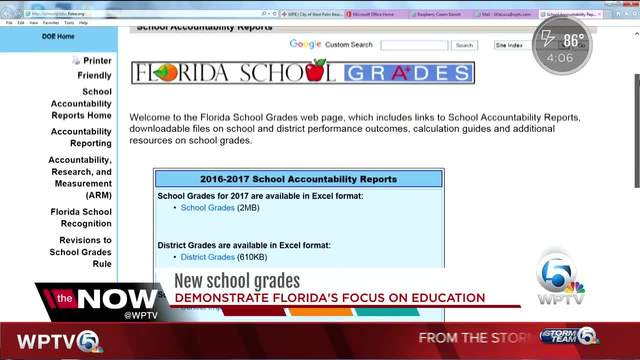 Central Florida school grades released