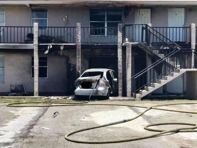 Man Rams Car Into Ex-Girlfriend's Apartment