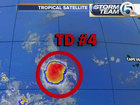 Depression not expected to become tropical storm