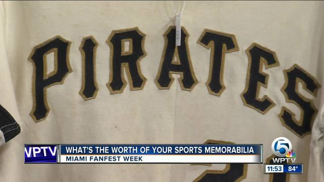 Sport memorabilia up for auction at All-Star Game Fanfest in Miami