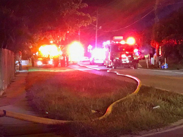 Palm Beach Gardens Fire Rescue Responds To Overnight Fire
