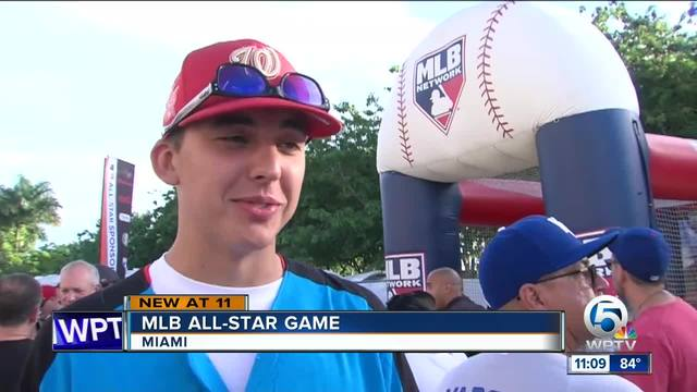 What did fans think of Miami as host city for All-Star Game-