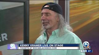Kenny 'The Real' Kramer in Boca Raton on July 20