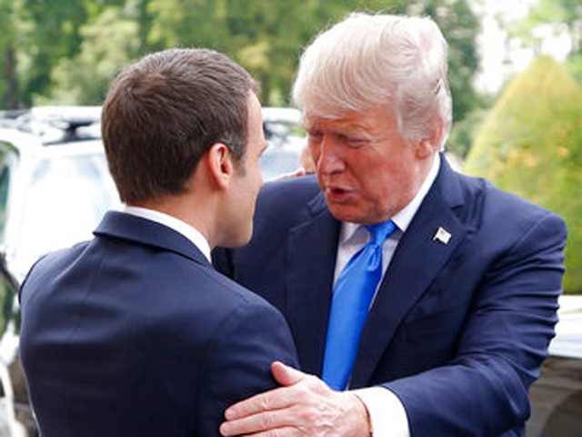 Macron expects Trump to reverse decision on Paris accord