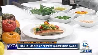 Chef David Byrne cooks perfect summertime salad